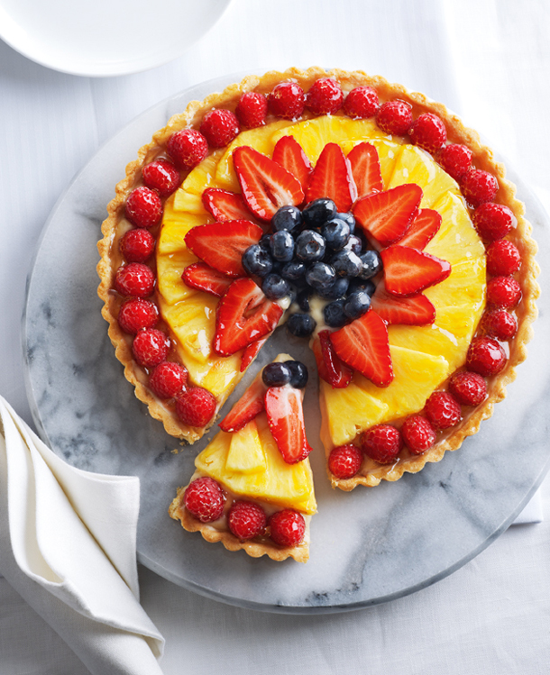 Fruit Tart Sponge Cake Recipe