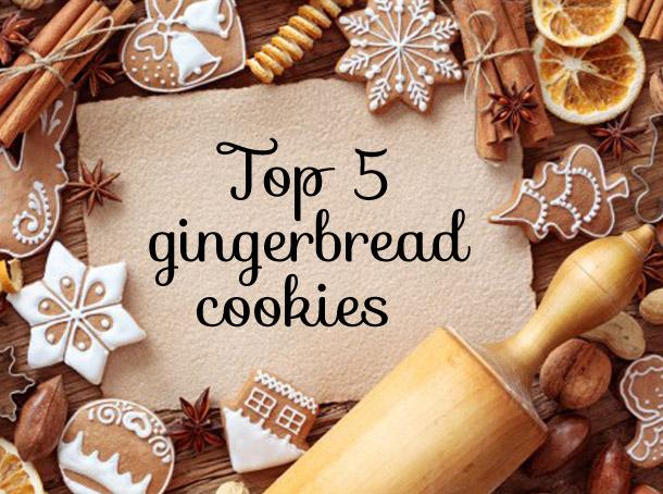 top 5 gingerbread cookies