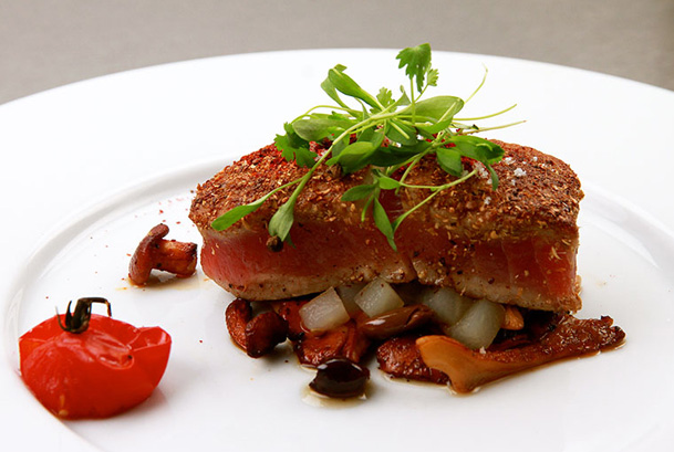 Tuna-with-Mushrooms-Rene-Second-Course