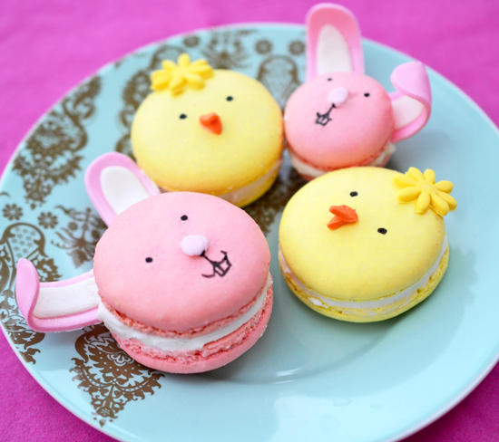 Easter Macarons From Duhlicious