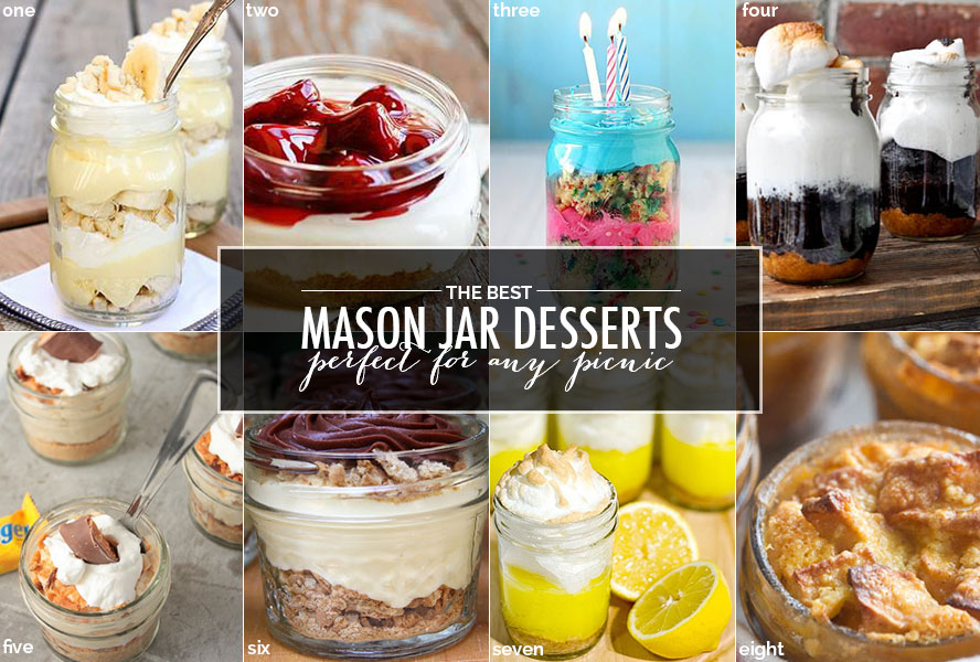 Best Mason Jar Desserts for Any Picnic | foodnetwork.ca