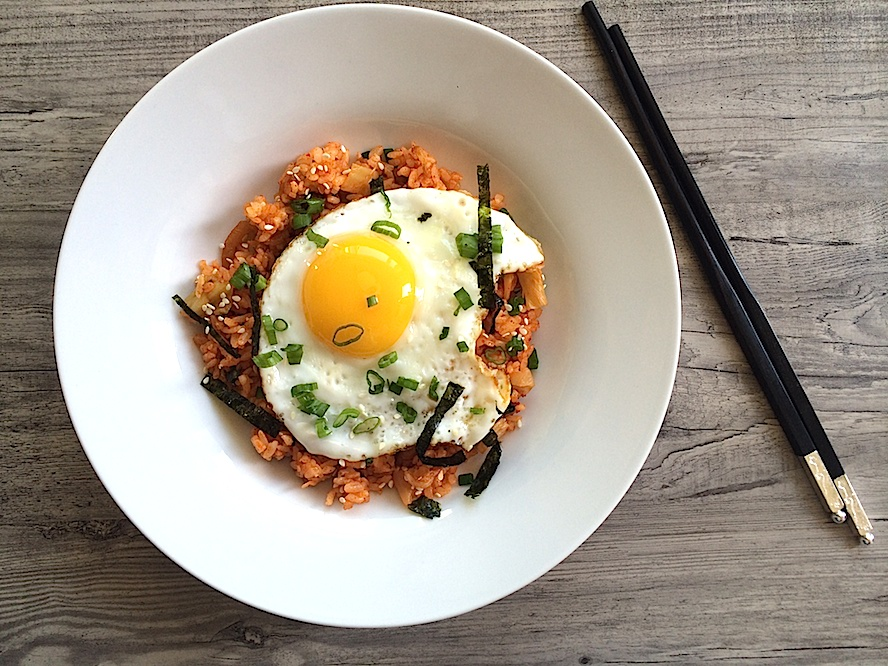 Quick and Easy Kimchi Fried Rice