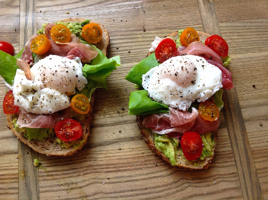 Avocado Toast with Poached Eggs: 1 Dish, 2 Ways