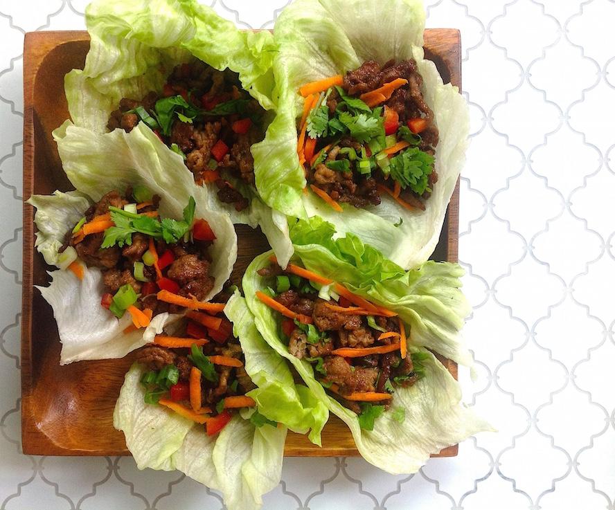 Thai Lettuce Cups: 1 Dish, 2 Ways | foodnetwork.ca