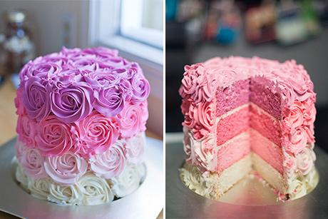 recipe: ombre rosette cake recipe [29]