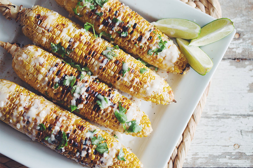 Fire-Grilled Chili Lime Corn Cobs Recipes — Dishmaps