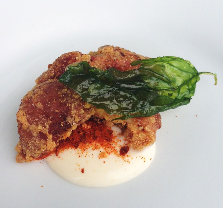Fried-Chicken-with-Mayo-and-Fried-Basil---Roger-Mooking-for-Twist