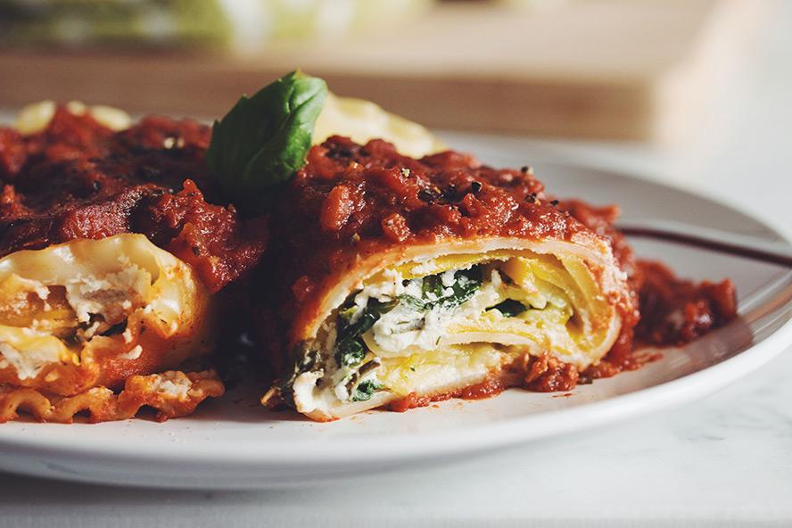 Food Network Lasagna Rolls