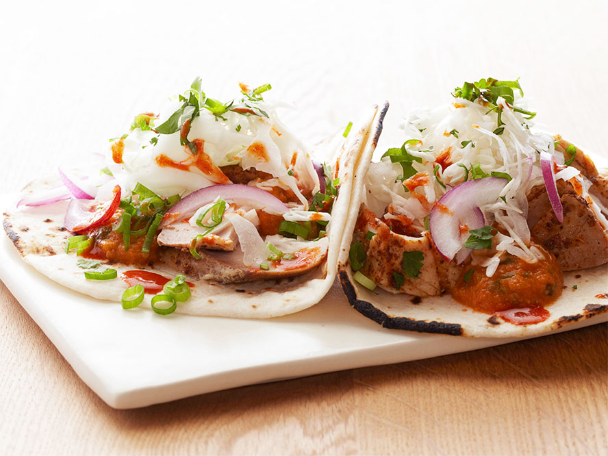 Bobby flay 39 s weekend bbq menu for Fish taco recipe