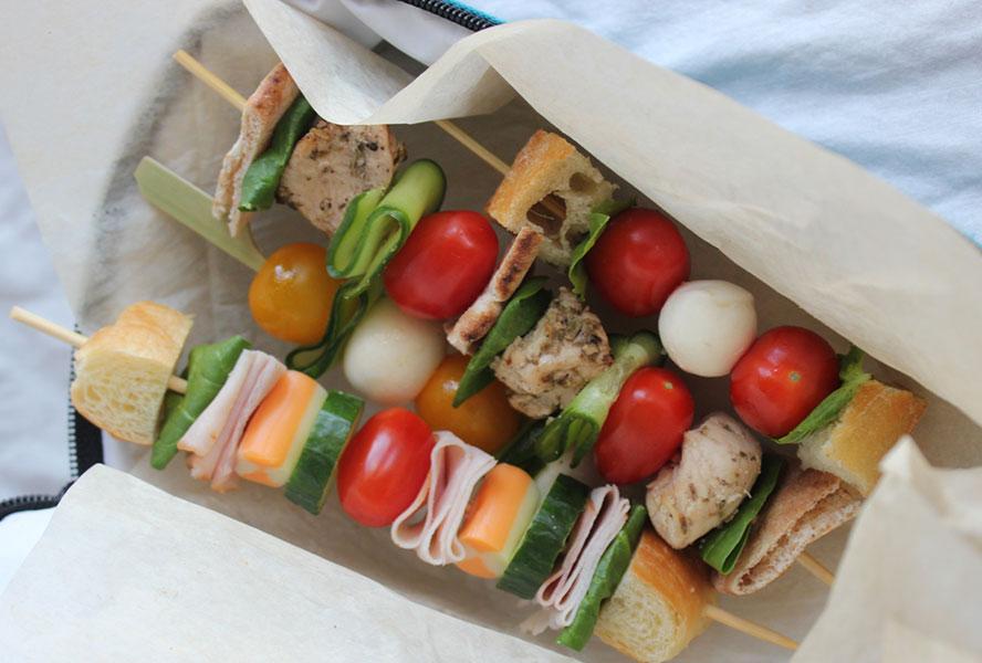 Kids' Lunch Idea: Sandwich on a Stick