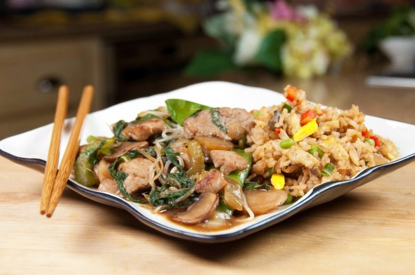 Chop 'Til You Drop Suey and Fried Rice