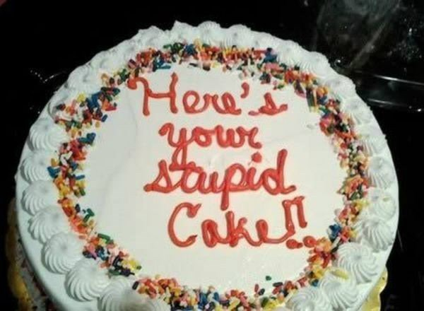 10 Brutally Honest Cakes For Every Occasion Food Network