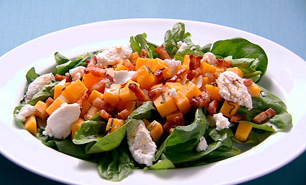 Squash and Ricotta Salad