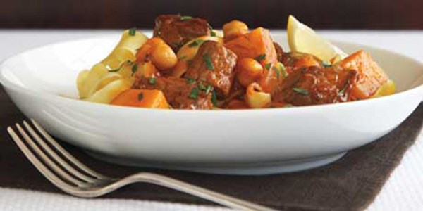 Lamb Stew with Squash and Mint