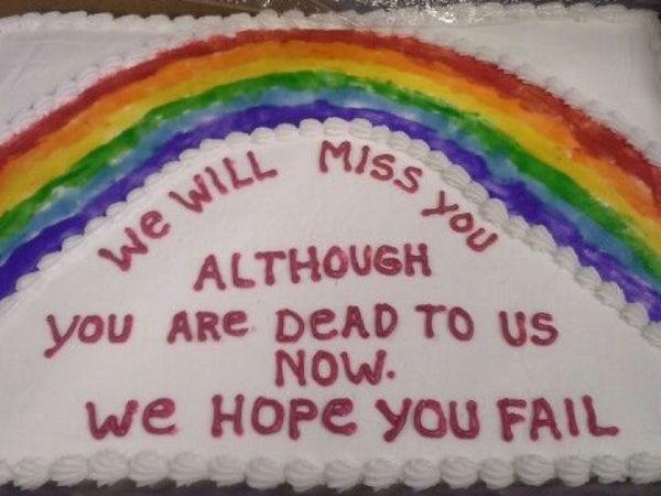 Funny Honest Cakes