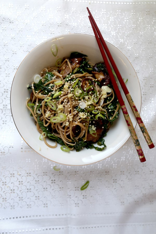 ... soba noodles spicy soba noodles with shiitakes spicy soba noodles with