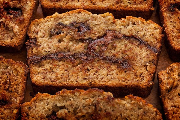 roasted-banana-nutella-bread