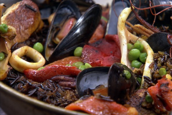 Seafood Paella Food Network