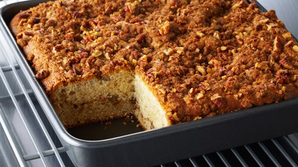 Anna Olson Sour Cream Apple Coffee Cake