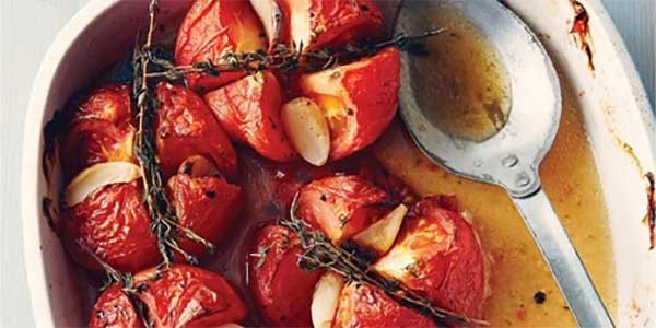 Herb Roast Tomatoes