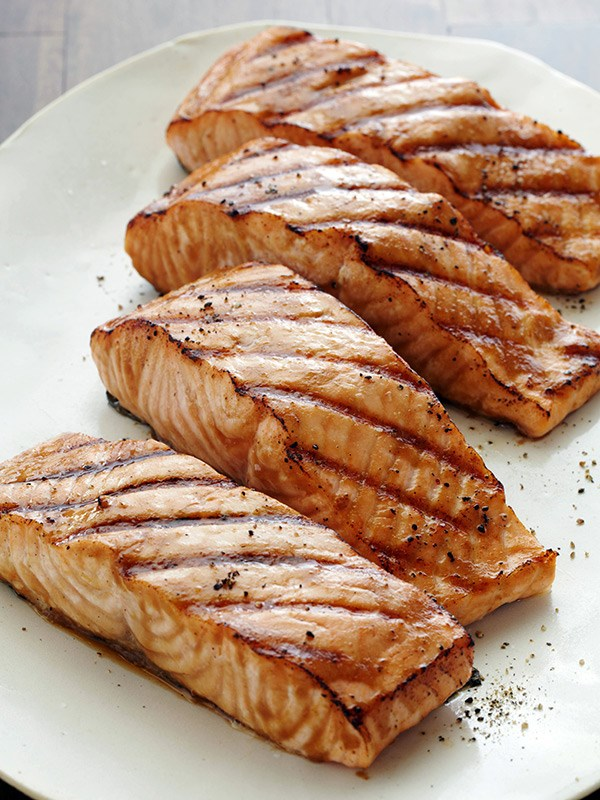 Grilled cod fish recipes food network for Grilling fish recipes