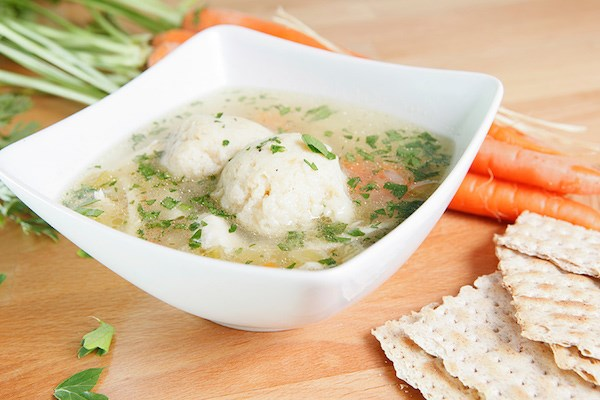 Chicken Soup with Dill Matzo Balls