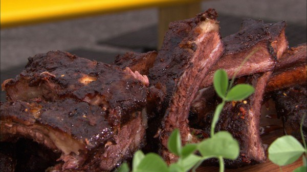 Mesquite Beef Ribs