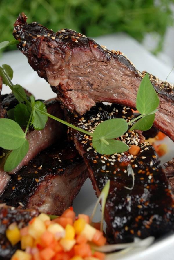 Hunan Smoked Beef Ribs