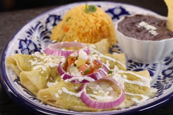Chicken Enchiladas Sour Cream Sauce Food Network