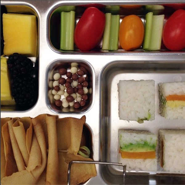 50 fun bento box lunches for kids food network canada. Black Bedroom Furniture Sets. Home Design Ideas