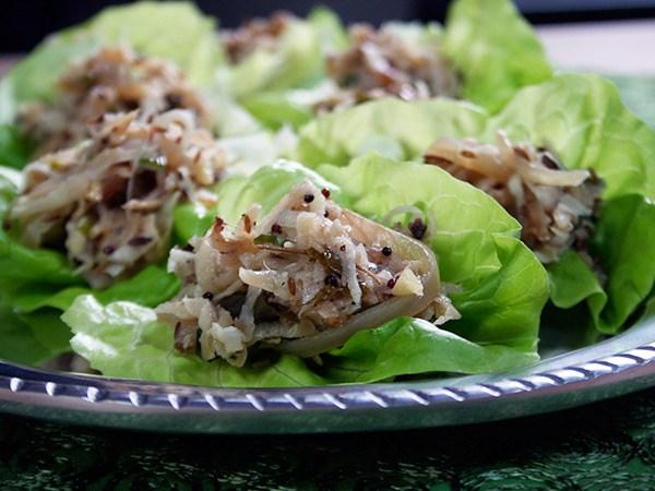 Turnip Lettuce Wraps