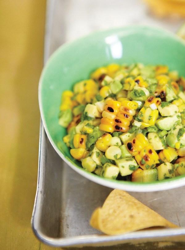 Avocado and Grilled Corn Salsa Ricardo Cuisine