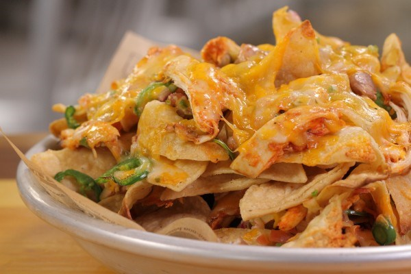 Chicken Tinga Nachos Recipe — Dishmaps