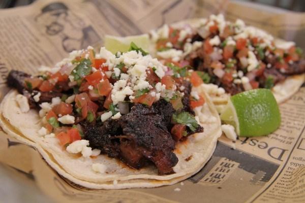 Smoked 'Xocolatl' Beef Brisket Taco