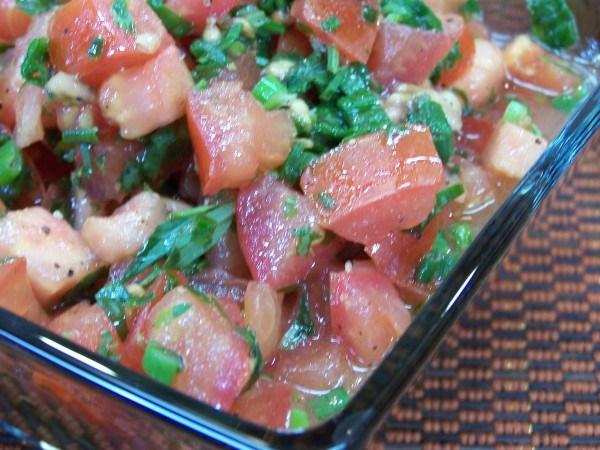 Tomato Tarragon Salsa