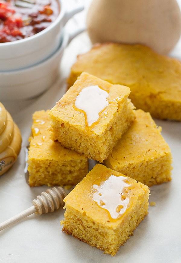 Slow Cooker Butternut Squash Cornbread