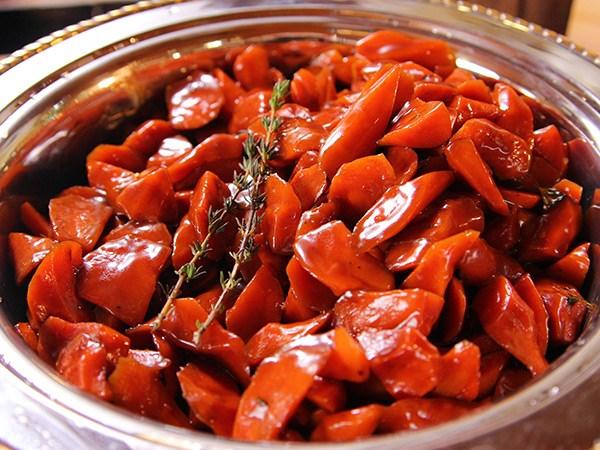 Whiskey-Glazed Carrots