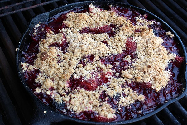Cast-Iron Skillet Berry Cobbler