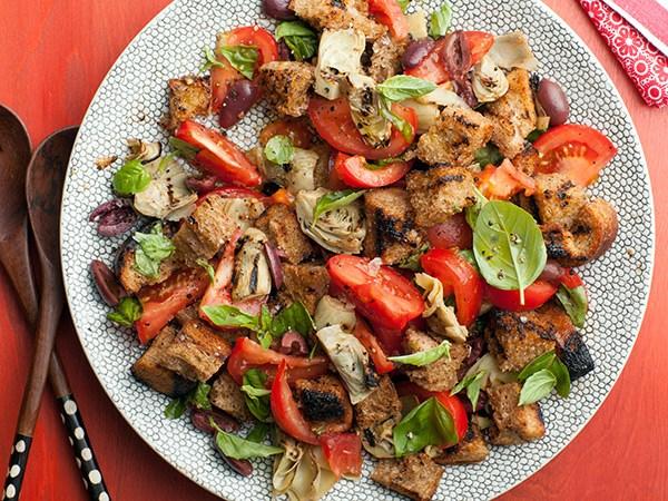 Artichoke and Tomato Panzanella