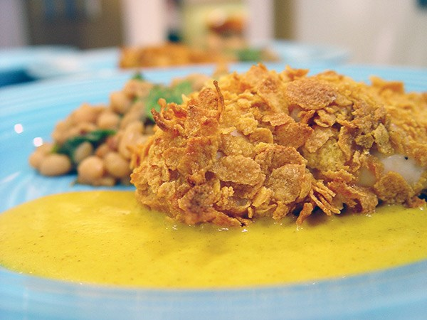 Cornflake Crusted Chicken