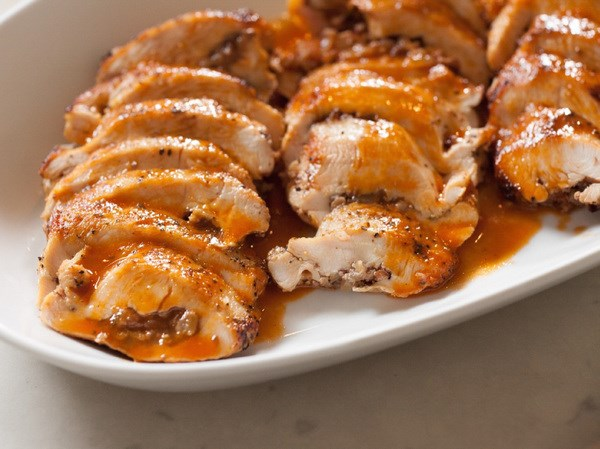 Pecan-Stuffed Chicken Breast