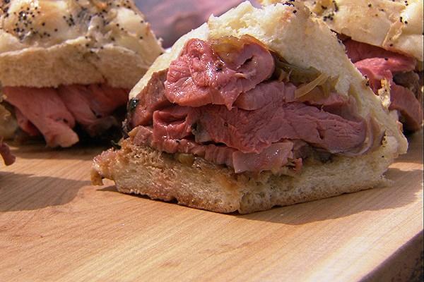 Alberta Beef Dip Sandwiches