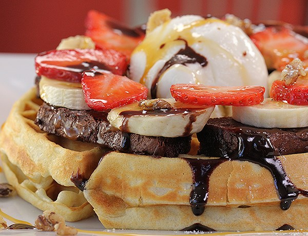 The Tastiest Waffles From You Gotta Eat Here!