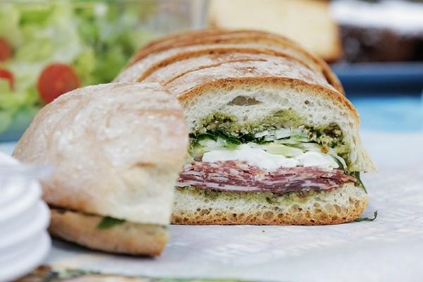 Marinated Salumi Sandwich