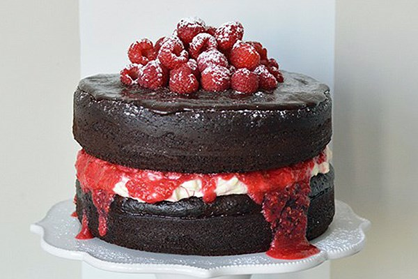 Haunted Black Forest Layer Cake Recipe — Dishmaps