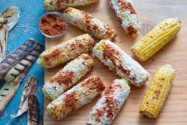 Corn on the Cobb with Lime Butter