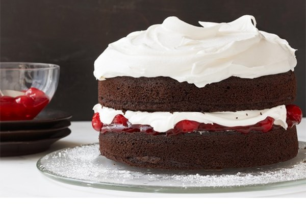 40 fresh summer cherry recipes food network canada for Black forest torte recipe