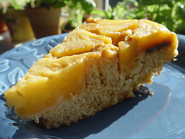 Pineapple Vanilla Upside Down Cake