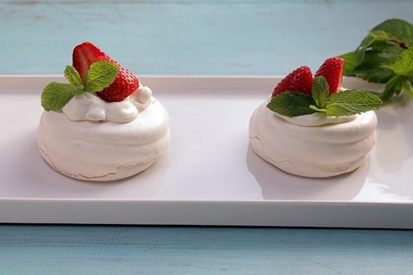 Strawberry Mini Pavlovas