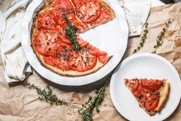 Summer's Last Tomato Tart